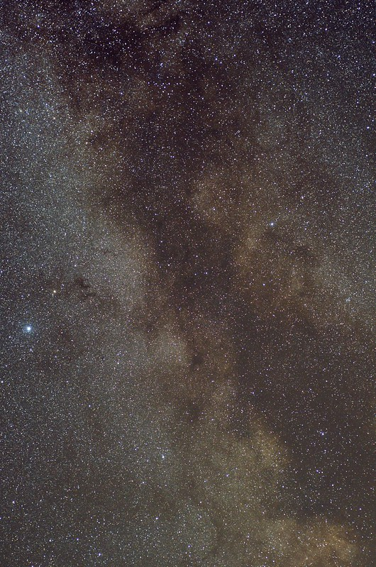 Milky Way widefield with the Nikkor 50mm-F1.8 D