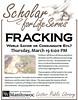 Scholar for Life - Fracking