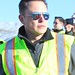 Elon Musk oveseeing the construction of Gigafactory by jurvetson