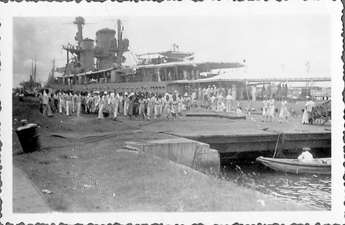 Excursion to and landed in Tandjong Priok in the Dutch East Indies on March 2nd 1936