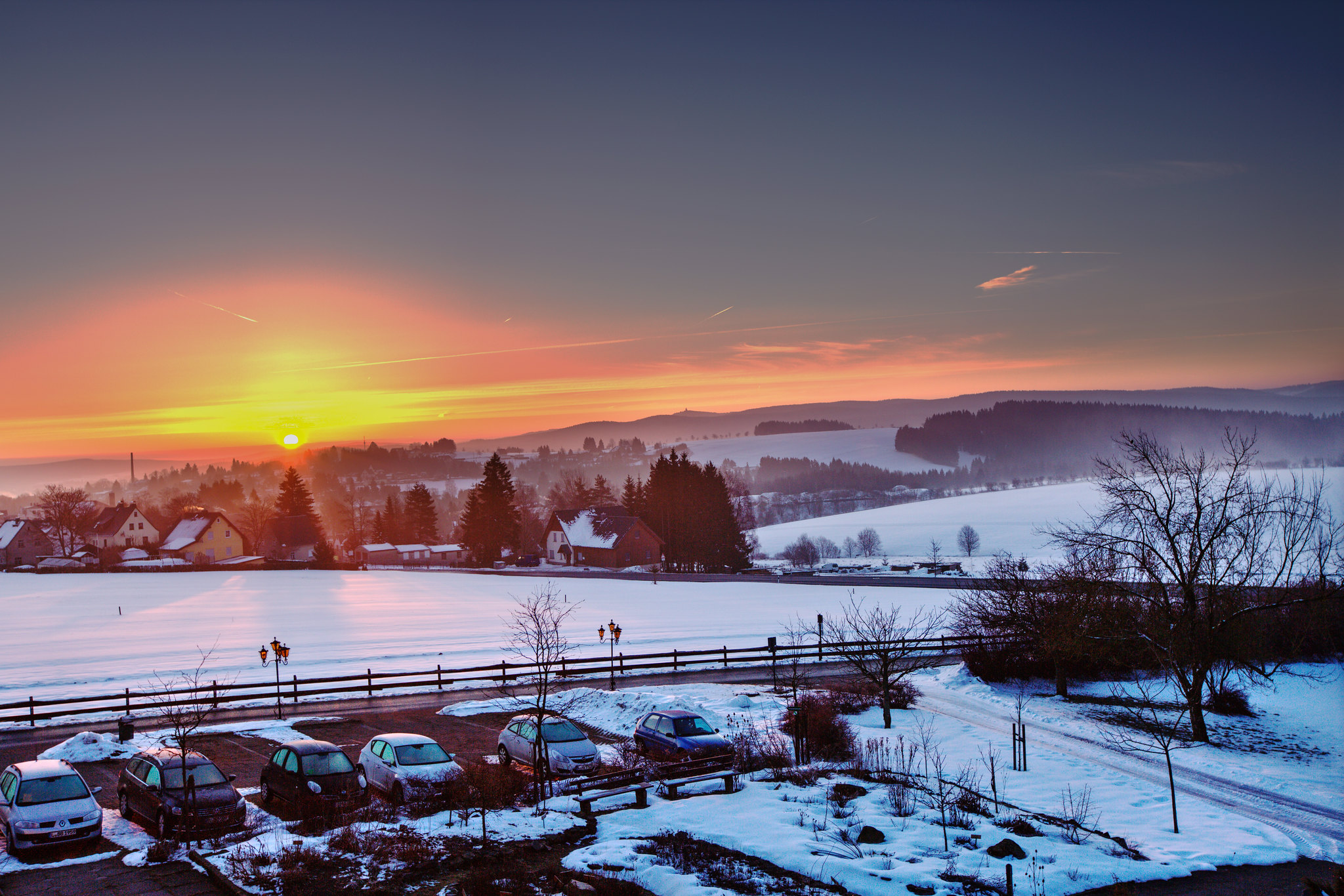 Winter sunrise | Flickr - Photo Sharing!
