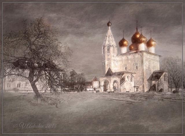 Church of the Entry into Jerusalem. (Vereya)