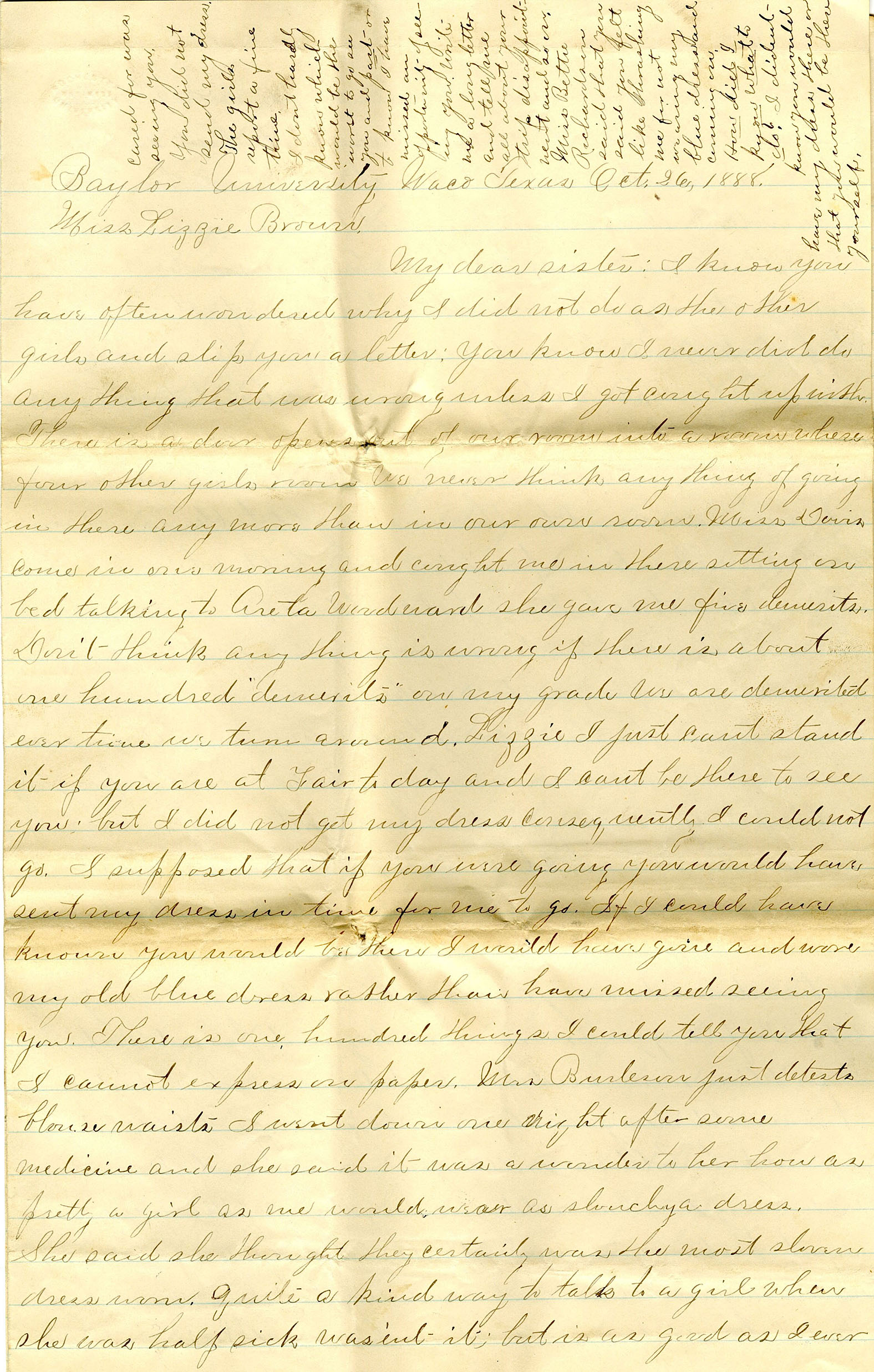Jessie Brown Letter