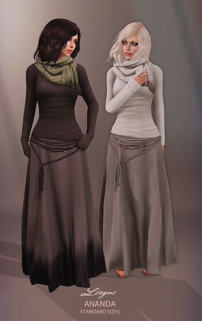 League Ananda Outfit & Scarves
