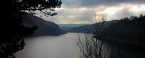 Clwedog Dam. Near Llanidloes. Wales.
