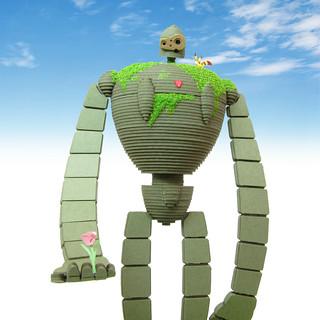 天空之城 機器兵(園丁版本) 組裝紙模型