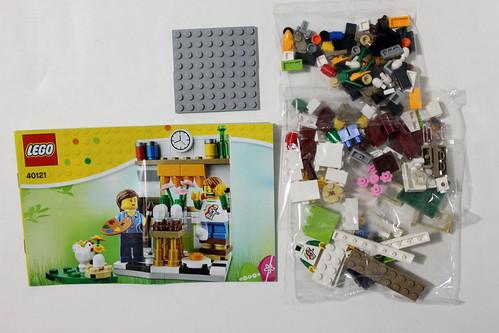 LEGO Seasonal Painting Easter Eggs (40121)