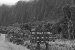 Hoomaluhia Botanical Garden - Entrance