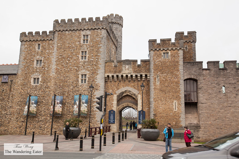 Entrance to Cardiff Castle