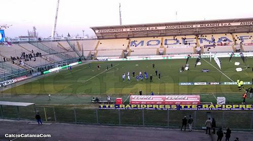 Peccato Catania! 0-0 al Braglia di Modena$