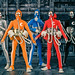 Microman String Divers team by chogokinjawa