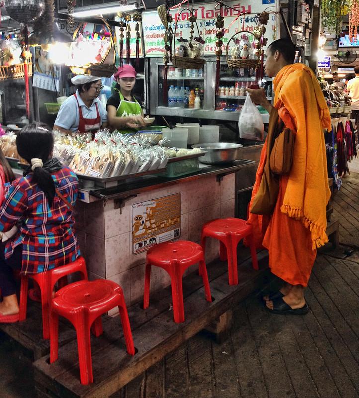 Thai Coconut Milk Jelly Dessert Stall