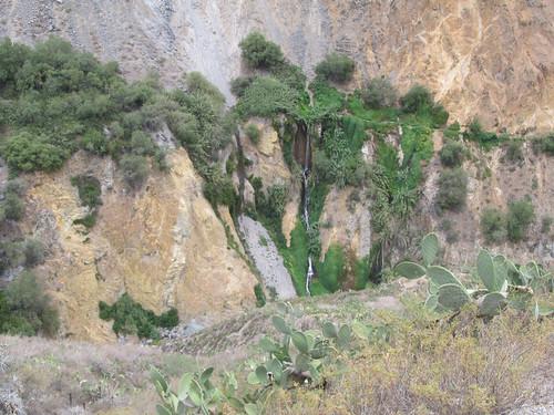 Trek du Cañon de Colca: cascada