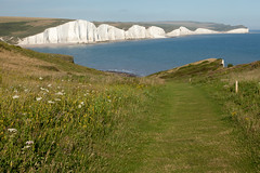Looking back | Seven Sisters walk | July 2016-58