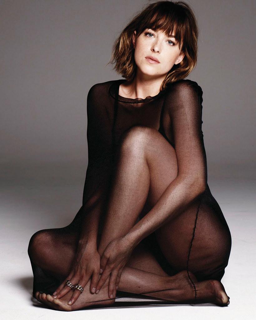 Дакота Джонсон — Фотосессия для «Elle» 2015 – 6