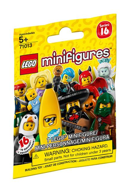 LEGO 《人偶抽抽樂》系列 第十六彈 LEGO Minifigures Series 16 (71013)