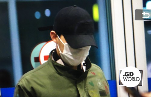 Big Bang - Incheon Airport - 27mar2016 - GD World - 03