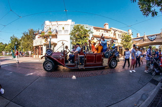 DCA Band car
