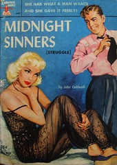 Midnight Sinners - Carnival Book - No 902 - John Caldwall - 1952