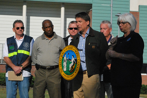Gov. Mcrory's visit to FEMA office