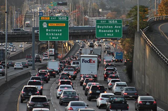 I-5 traffic