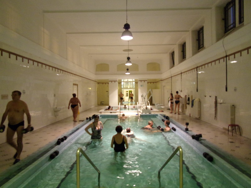 Inside Szechenyi Baths