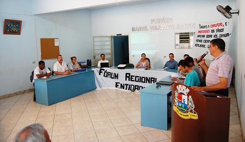 Jânio Quadros: Município realiza 1º Fórum Regional de entidades