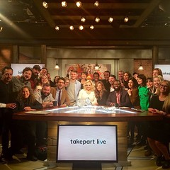 And that's a wrap! What a ride on @takepartlive. Fits right into quite the year of big moves. It was an honor to serve even briefly, and oh did I learn lots like such as how to keep talking when someone in the control room is issuing commands into your ea
