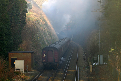 The Cathedral Express at Roman Road, Dover