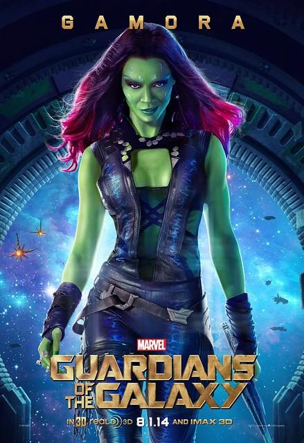 poster gamora