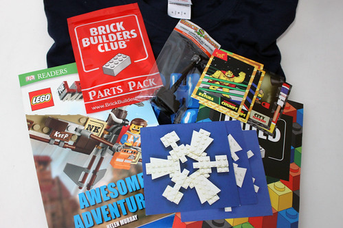 Brick Builders Club December 2014 Box