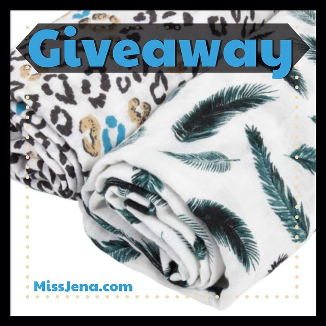 Giveaway for Margaux and May Infant Organic cotton muslin swaddling blanket