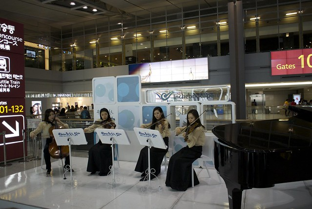 Concert in the Airport