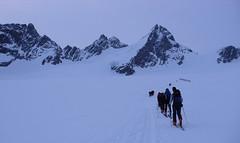 Podejscie na przełęcz Col d