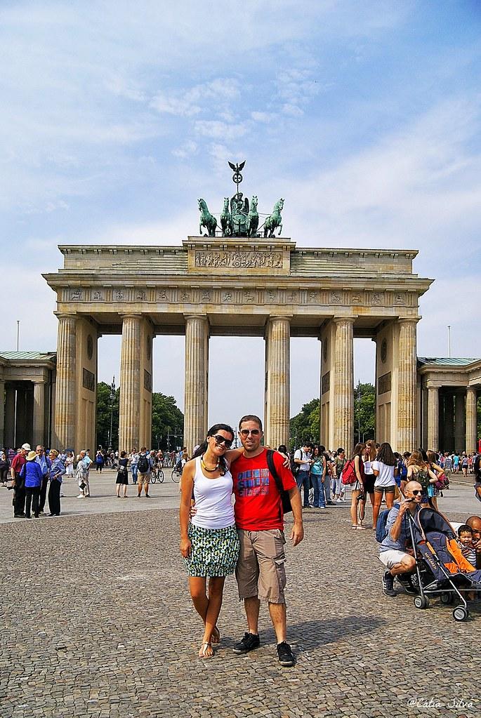 Around Berlin (4) Puerta de Brandenburgo