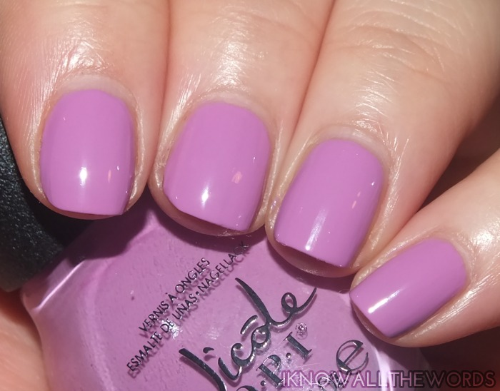 nicole by opi new shades- get a mauve on