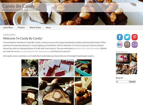 Candy By Candy Website