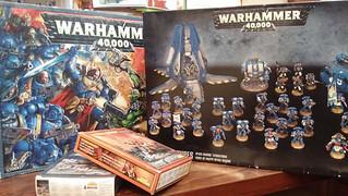 【玩具人'路行鳥'投稿】Warhammer & Warhammer 40k 微縮模型分享
