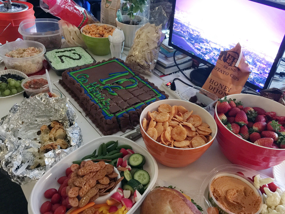 2015 Superbowl party 1