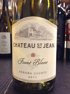 Chateau St. Jean Sonoma County Fume Blanc 2011