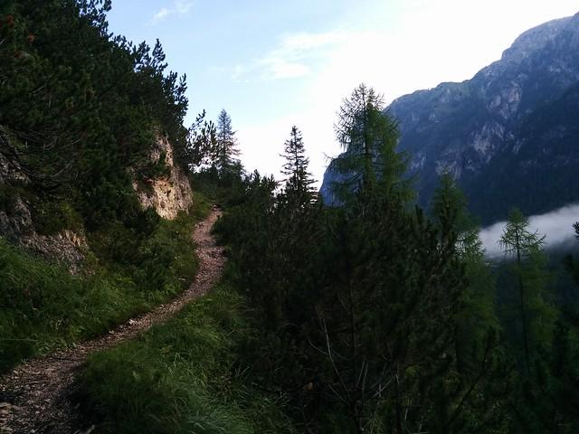 Aufstieg Strudelkopf vom Höhlensteintal aus