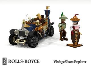 Rolls-Royce Vintage Steampunk Explorer