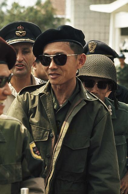 SAIGON 1965 - Thiếu tướng Lâm Văn Phát. Photo by Wilbur E. Garrett