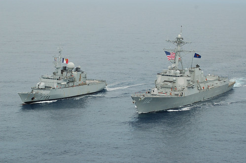 Michael Murphy Enhances Interoperability with French Ship