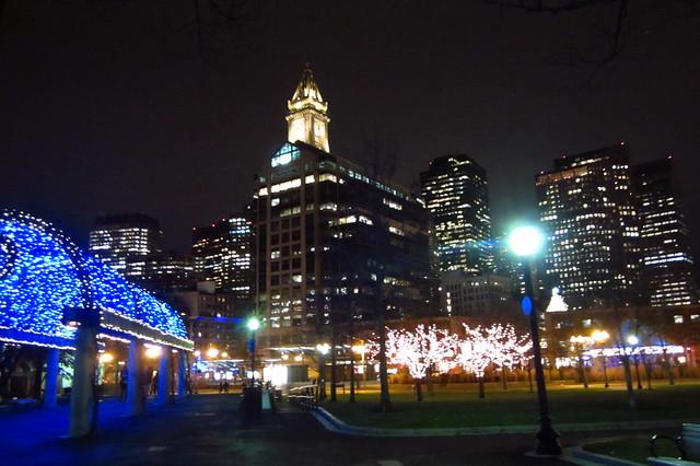 Views from Christopher Columbus Park, Boston
