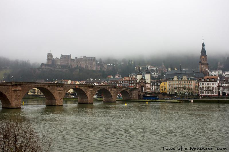 HEIDELBERG - Heidelberger Schloss / Alte Brücke / Brückentor