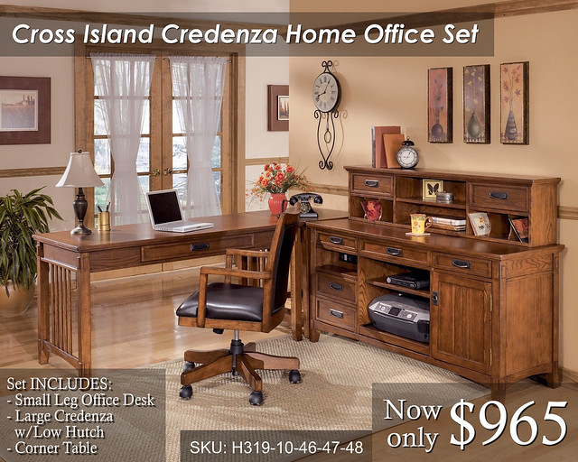 Cross Island Credenza - Priced