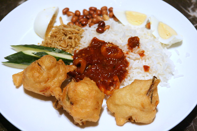 Nasi lemak so sedap