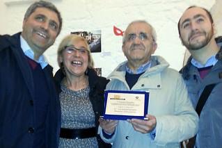 Primo Classificato Beppe Gasparro - premiazione
