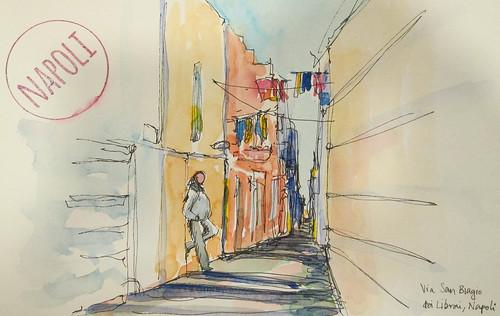 Via San Biagio dei Librai, Naples, Italy
